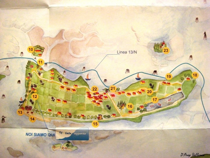 Sant'Erasmo map