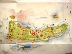 Sant'Erasmo island map