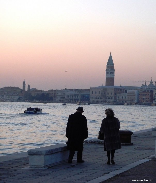 photo of Venice sunset