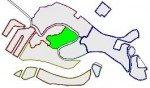location map for San Polo sestiere in Venice
