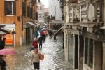 flooded street in Venice